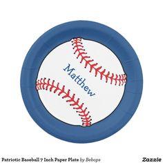 sc 1 st  Pinterest & Vintage Baseball Sports Party Paper Plates