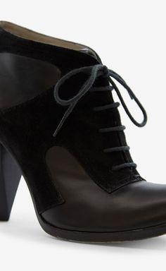 Costume National Black Booties | VAUNTE