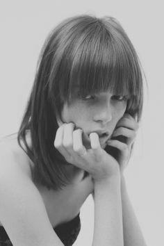 mod bob and rounded bangs  Caroline by Dylan Reyes | Paranaiv