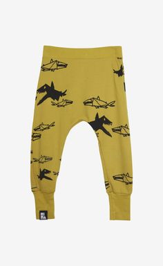 Mini and Maximus Yellow And Black Trouser