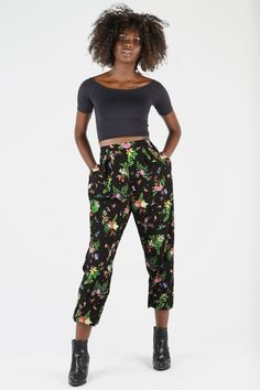 Hummingbird Garden Lounge Pants - Limited - Shadow of the Pines - Collections