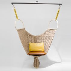 patricia urquiola swing chair for louis vuitton objets nomades