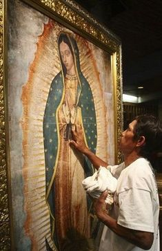 Our Lady of Guadalupe Blessed Mother Mary, Blessed Virgin Mary, Religious Icons, Religious Art, Happy Feast Day, Madona, Mexican Heritage, Queen Of Heaven, Holy Mary