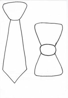 Template - Gravata Borboleta