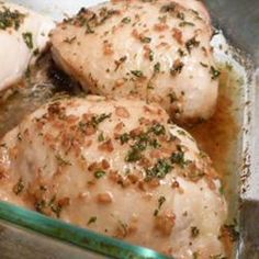 Easy Garlic Broiled Chicken Allrecipes.com photo by Lucky Noodles