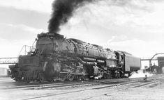 No. 4002 at Laramie, Wyoming, August 17, 1957.
