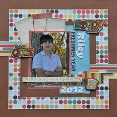 Freshmen Year - Scrapbook.com