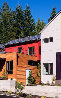 A new neighborhood on Bainbridge Island, Washington, has all the aspects of a resilient community--like net zero homes, community gardens, and car sharing--built in from the beginning.