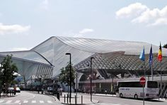 Main Railway Station, designed by Santiago Calatrava