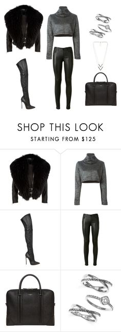 """""""Untitled #185"""" by madebyaliciap ❤ liked on Polyvore featuring Harrods, victoria/tomas, Casadei, Yves Saint Laurent, Givenchy, Judith Jack and NLY Accessories"""
