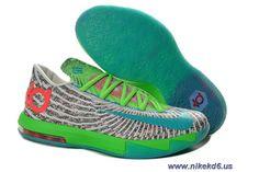 premium selection 571cc a8b54 DC Preheat 618216-400 Gamma Blue Dusty Grey - Flash Lime Womens Nike KD 6