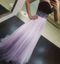 Sleeveless Sequined Ball Gown