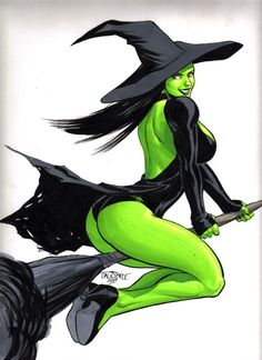 Sexy Wicked Witch of the West The Wizard of Oz Dorothy Original ...