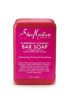 SheaMoisture Superfruit Complex Bar Soap | The soap is very pretty and the scent is very musky and sexy, but this bar soap is a little too drying for use during winter months. I like my beauty products to be versatile enough to use throughout the year.
