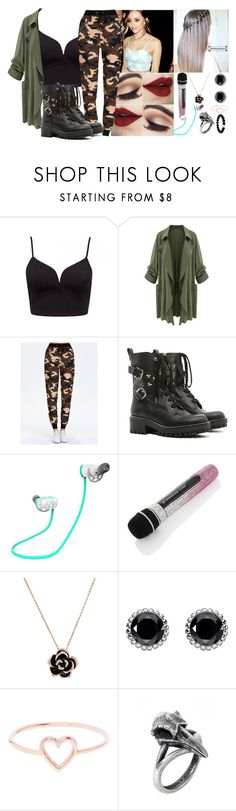 """""""~ Jade Cudlitz ~ Performing/Interview"""" by kaitlyn-is-a-penguin ❤ liked on Polyvore featuring RED Valentino, Thomas Sabo and Love Is"""