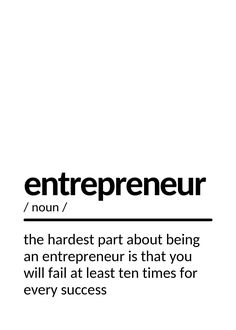 I'm convinced that about half of what separates the successful entrepreneurs from the non-successful ones is pure perseverance. Inspirational Quotes About Success, Success Quotes, Successful Entrepreneurs, Entrepreneur Quotes, Quote Posters, Custom Posters, Separates, Billionaire, Positive Vibes