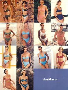 dosMares 1995-2008. 25th Anniversary.  #dosMares #Swimwear #Bikini #BeachFashion