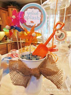 Delightful Order: Splish Splash Birthday Party Ideas