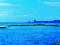 "https://flic.kr/p/yXbHxB | Luigi Speranza -- The Connecticut Shore -- Fish Island from Contentment Island -- ""Kensett and the Connecticut Shore,"" Mattatuck, Waterbury, Connecticut."