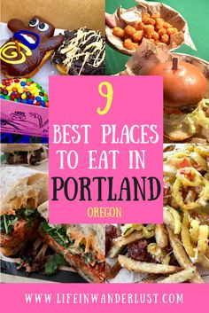 Thinking about heading to Portland? Don't leave the plane without checking out this list of 9 of the best places to eat in Portland, you'll thank me later Usa Travel Guide, Travel Usa, Travel Tips, Beach Travel, Budget Travel, Travel Guides, Crater Lake, Visit Portland Oregon, Portland Eats