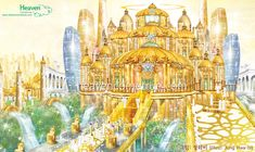 Heaven's story through the pictures > Heaven is a world of order Heaven Pictures, Jesus Pictures, Beautiful Pictures, Beautiful Nature Scenes, Beautiful World, Cartoon Garden, Heaven Art, Bride Of Christ, Biblical Art