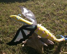 DragonSown Fabric Plush Dragon Handmade-to-order by DragonSown