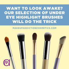 Makeup Addiction Cosmetics | Under Eye Highlighting Brushes!!