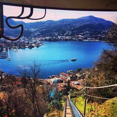 #italy #italia #como #lake #milano #funiculer #vacation #wonderful view