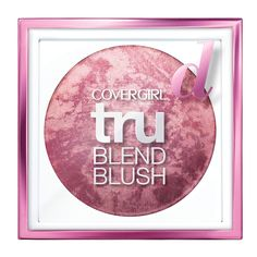 "CoverGirl truBlend Blush: The marbled formula contains a blend of shades that works for every skin tone. As Blitzer says: ""One swipe is like, 'Hello, I'm alive!'"""