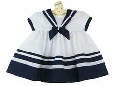 Vintage style sailor dress from www.grammies-attic.com
