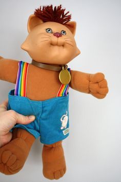 80s Cabbage Patch Kid Koosa Cat Doll 1983 by babyshapes on Etsy