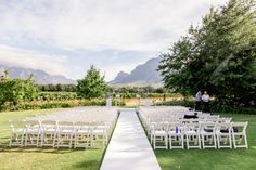Anna & Christian's Classy Winelands Wedding at Vrede & Lust. Wedding Ceremony, Wedding Venues, South African Weddings, Successful Marriage, Mountain View, Lust, Real Weddings, Dolores Park, Anna