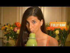 The Amazing Orange Spinach Basil Smoothie!