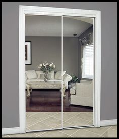 Do I Take Out Or Leave The Mirrored Closet Doors In Entryway