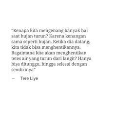Quotes Novel Tere Liye 6