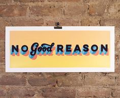'No Good Reason - Hand Finished - Light Orange Yellow Specs' the limited edition artwork by artist Gary Stranger and Lilly Lou. Available to buy online at Nelly Duff.