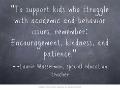 Tips to support kids with special needs (click for more).