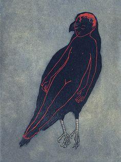 raven girl / audrey niffenegger
