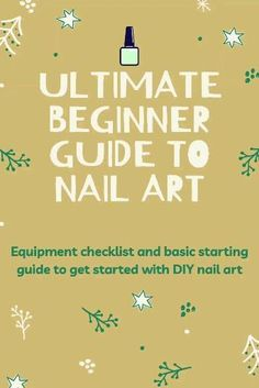Get started learning to do your own nail art at home!! Follow the link to get the beginners checklist and 101 tutorial! Nail Art At Home, Nails At Home, Nail Art Diy, Easy Nail Art, Diy Nails, Simple Nail Art Designs, How To Do Nails, Get Started, Stress