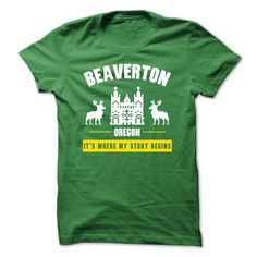 (Top Tshirt Seliing) Oregon-Beaverton Where my story begins Facebook TShirt 2016 Hoodies, Funny Tee Shirts