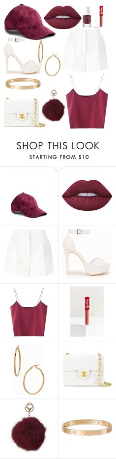 """""""OOTD #2"""" by harriet-xo-fae ❤ liked on Polyvore featuring Lime Crime, Dolce&Gabbana, Nly Shoes, Bony Levy, Chanel, Humble Chic, Cartier and rms beauty"""