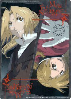 Fullmetal Alchemist / Sakura Wars (Taisen) Pencil Board - Animedia 2005.07 Promo Shitajiki (Shitajiki)