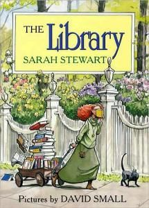 I just reserved this at the library! The Library by Sarah Stewart (picture book) ; Elizabeth Brown loves to read more than anything else, but when her collection of books grows and grows, she must make a change in her life. Great Books, My Books, Elizabeth Brown, Sarah Elizabeth, Library Books, Library Ideas, Library Week, Kids Library, Library Humor