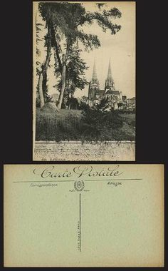 Bayonne Old Postcard La Cathedrale Vue Des Glaces LL106 | eBay