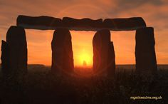 If you stood inside the Stonehenge monument on the day of the northern summer solstice, facing north-east through the entrance towards a rough hewn stone outside the circle – known as the Heel Stone – you would see the sun rise above the Heel Stone.
