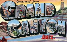 """""""Greetings from Grand Canyon"""""""