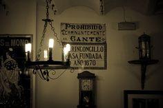 """""""El rinconcillo"""", Bar más antiguo de Sevilla."""