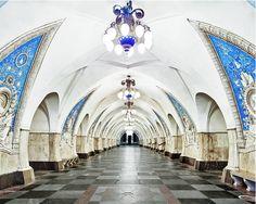 Opulent Propaganda: The Subterranean Paradise of the Moscow Metro - good read