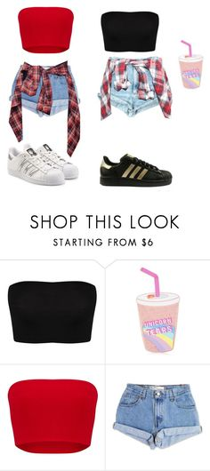 """""""Untitled #105"""" by fashion-fbi-2001 on Polyvore featuring ASOS, Topshop, Levi's and adidas Originals"""
