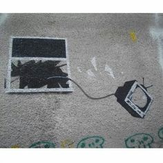 Banksy is a pseudonymous England-based graffiti artist, political activist, film director, and painter. His satirical street art and subversive epigrams . Banksy Graffiti, Arte Banksy, Bansky, Graffiti Lettering, Graffiti Creator, Street Installation, Graffiti Drawing, Graffiti Alphabet, English Artists